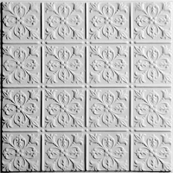 Ceilume Fleur De Lis Ceiling Tile