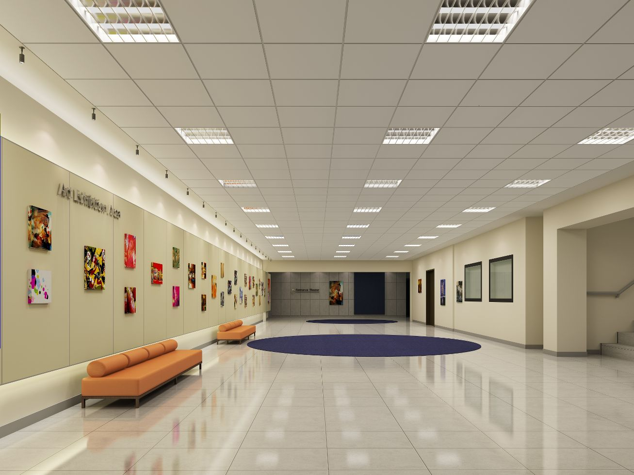 Suspended Ceiling Tile Armstrong Fine Fissured