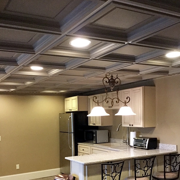 Ceilings 101: Drop Ceiling vs  Drywall Ceiling - Elegant Ceilings