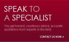 speak to our experts