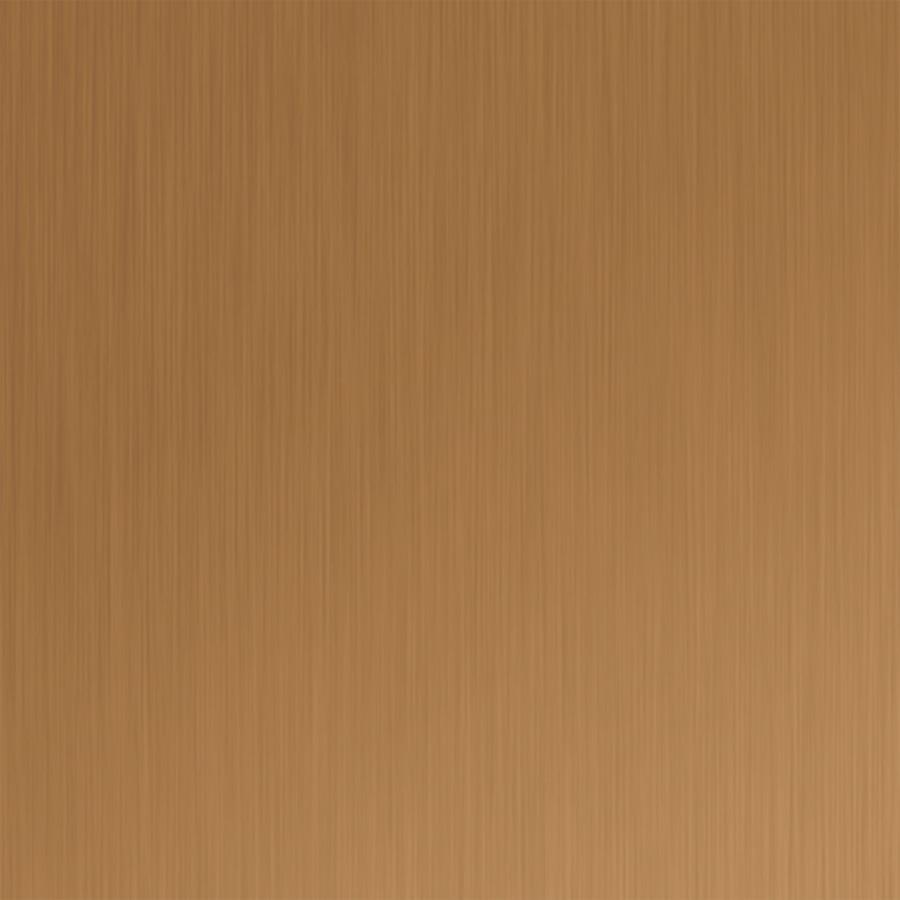 MirroFlex Brushed Copper Finish