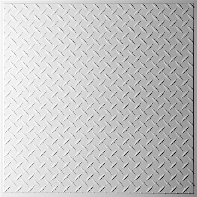 Ceilume Diamond Plate 2ft x 2ft : Elegant Ceilings u0026 Walls